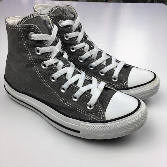 ef94b062ea76 Converse Shoes - Converse Chuck Taylor All Star Hi-Top Charcoal
